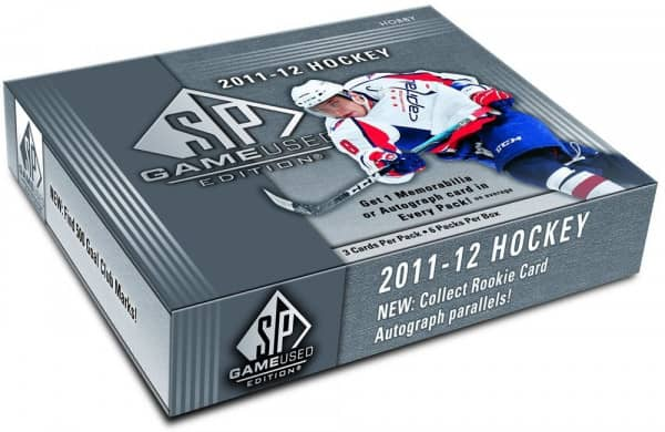 2011/12 Upper Deck SP Game Used Hockey Hobby Box NHL