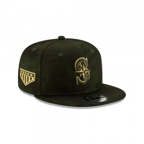 Seattle Mariners 2019 Armed Forces Day 9FIFTY Snapback MLB Cap