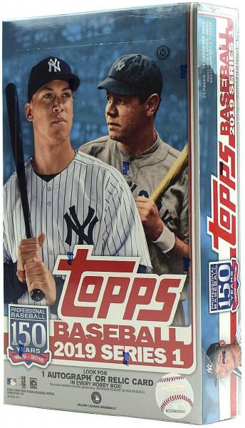 2019 Topps Series 1 Baseball Hobby Box MLB