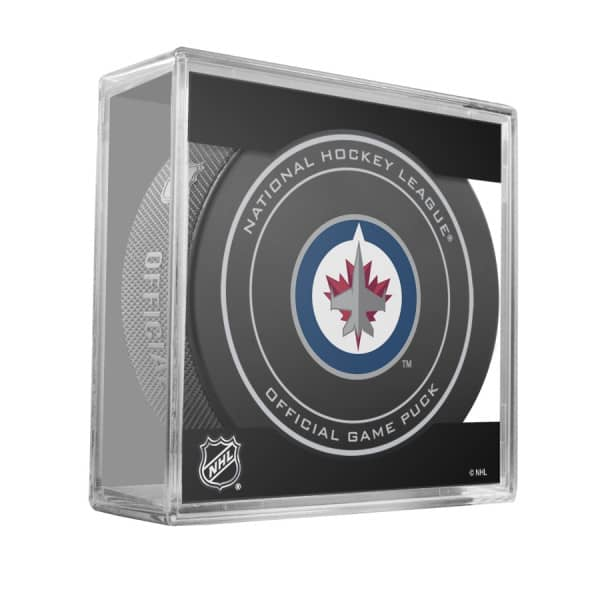 Winnipeg Jets NHL Official Game Puck (2018)