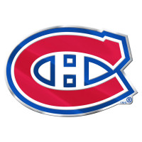 Montreal Canadiens Aluminium Color NHL Team Emblem