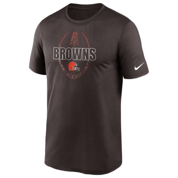 Cleveland Browns 2020 NFL Icon Nike Performance T-Shirt Braun