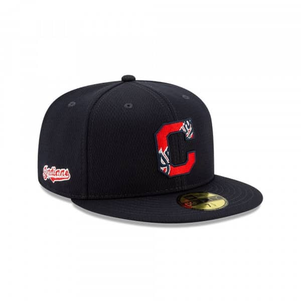 Cleveland Indians 2020 Authentic Spring Training 59FIFTY Fitted MLB Cap
