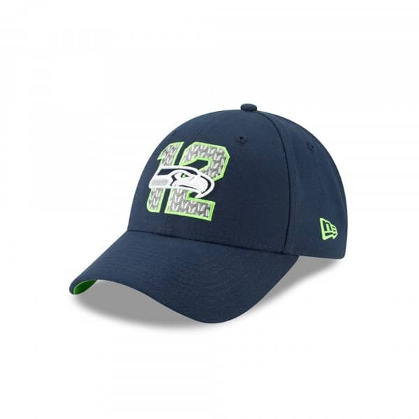 c75996e3 Seattle Seahawks 2019 NFL Draft On-Stage 9FORTY Adjustable Cap