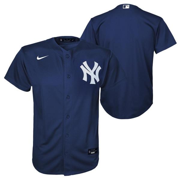 New York Yankees Youth MLB Replica Alternate Trikot Navy (KINDER)
