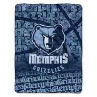 Memphis Grizzlies Super Plush NBA Decke