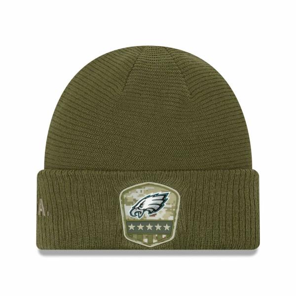 Philadelphia Eagles 2019 On-Field Salute to Service NFL Beanie Wintermütze