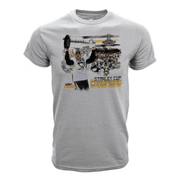 Pittsburgh Penguins Union Hoist NHL T-Shirt Grau