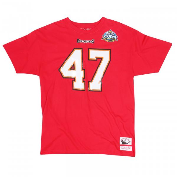 John Lynch #47 Tampa Bay Buccaneers Throwback NFL T-Shirt