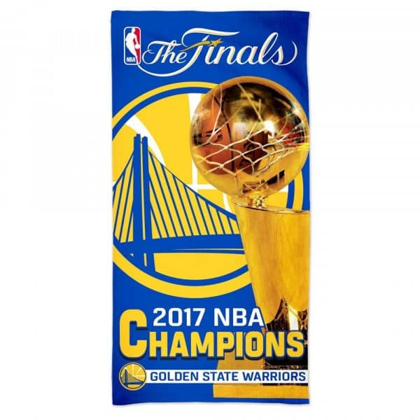 Golden State Warriors 2017 NBA Champs NBA Strandtuch