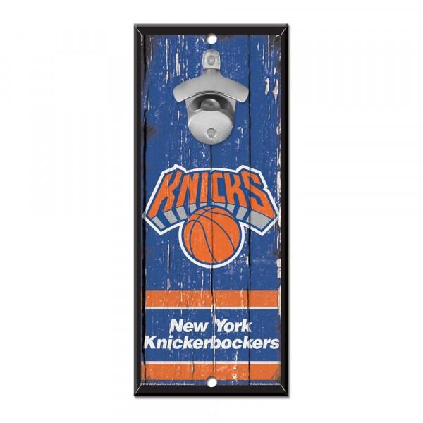 New York Knicks NBA Schild mit Flaschenöffner