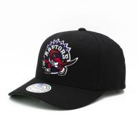 Toronto Raptors Cotton Team 110 Stretch Snapback NBA Cap Schwarz