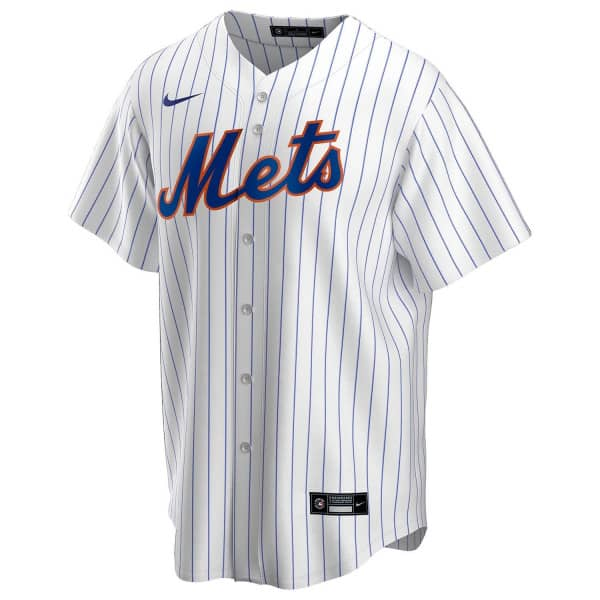 New York Mets 2020 Nike MLB Replica Home Trikot Pinstripe