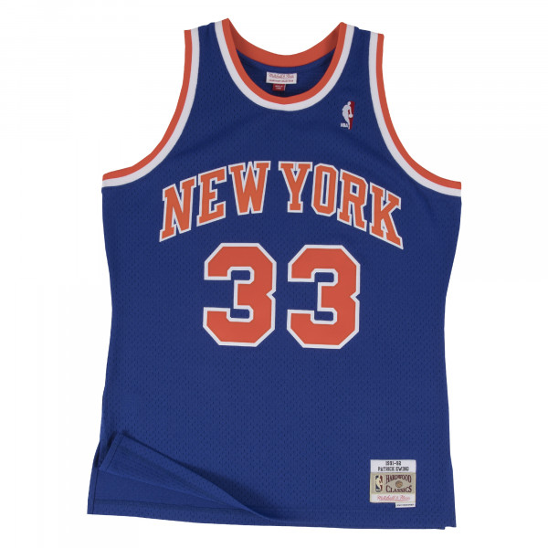 Patrick Ewing #33 New York Knicks 1991-92 Swingman NBA Trikot