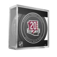 Arizona Coyotes 20th Anniversary NHL Official Game Puck