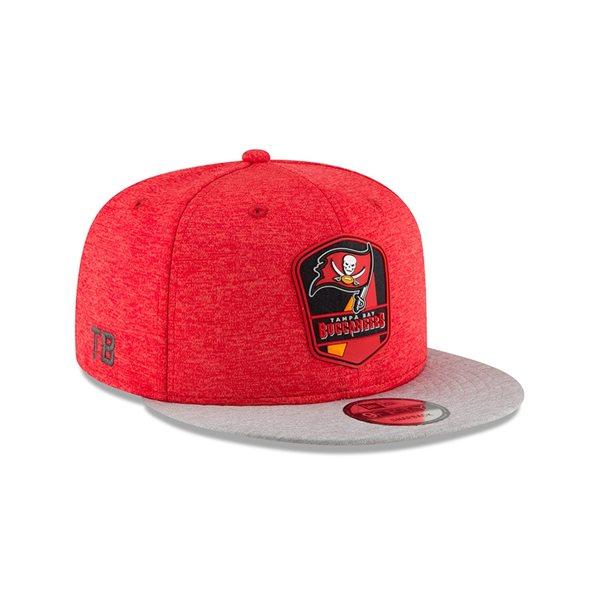 the best attitude b5342 b1a43 New Era Tampa Bay Buccaneers 2018 NFL Sideline 9FIFTY Snapback Cap Road    TAASS.com Fan Shop
