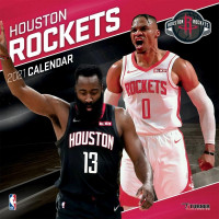 Houston Rockets 2021 Team NBA Wandkalender