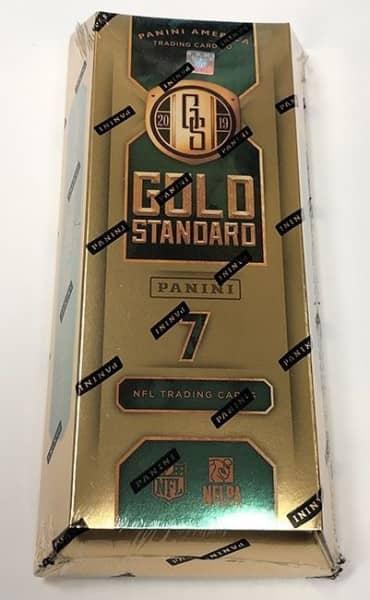 2019 Panini Gold Standard Football Hobby Box NFL