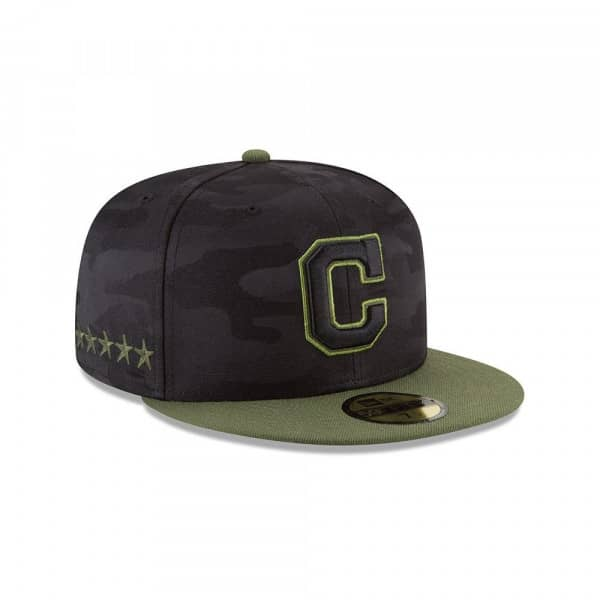 Cleveland Indians 2018 Memorial Day 59FIFTY Fitted MLB Cap