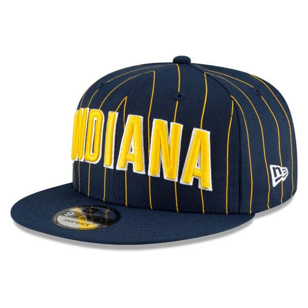 Indiana Pacers Official 2020/21 City Edition New Era 9FIFTY Snapback NBA Cap