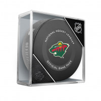 Minnesota Wild NHL Official Game Puck