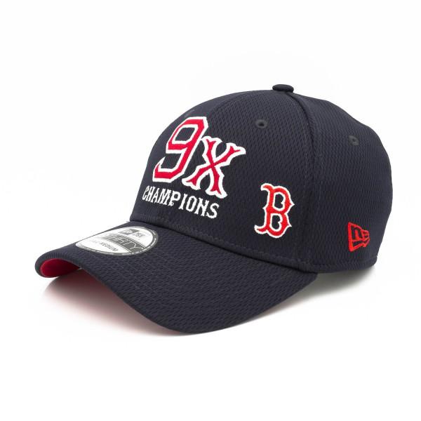 Boston Red Sox 9-Time World Series Champions 39THIRTY Flex Fit MLB Cap