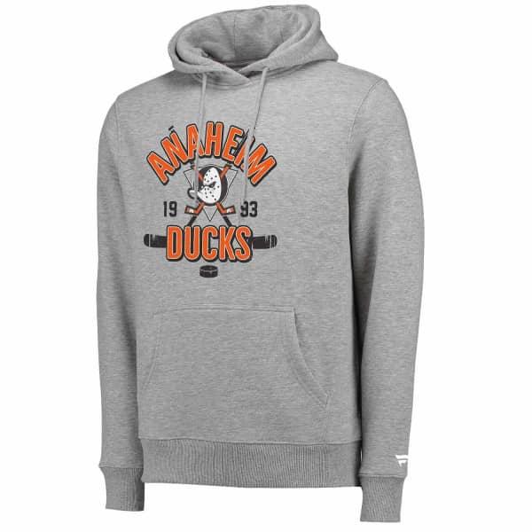 Anaheim Ducks Crossed Sticks Hometown NHL Hoodie
