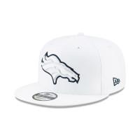 Denver Broncos 2019 NFL On-Field Sideline Platinum 9FIFTY Snapback Cap