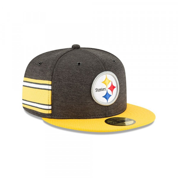 Pittsburgh Steelers 2018 NFL Sideline 59FIFTY Fitted Cap Home
