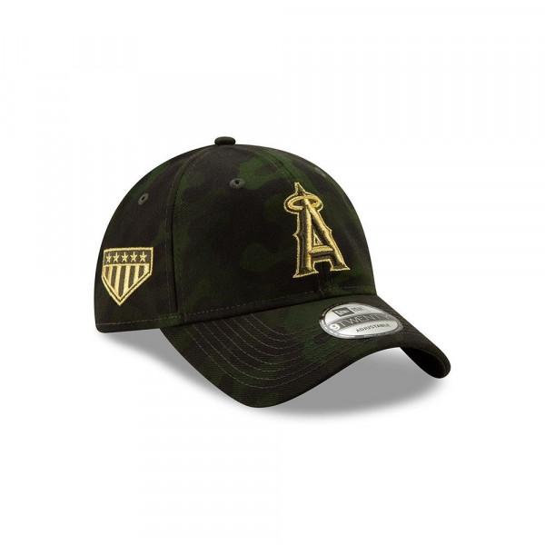 536e9e3be9807 New Era Los Angeles Angels 2019 Armed Forces Day 9TWENTY Adjustable MLB Cap