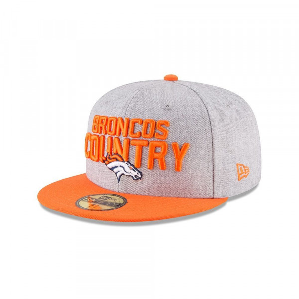 Denver Broncos 2018 NFL Draft 59FIFTY Fitted Cap