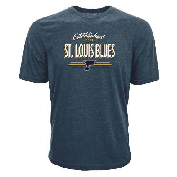 St. Louis Blues Established Crowned NHL T-Shirt