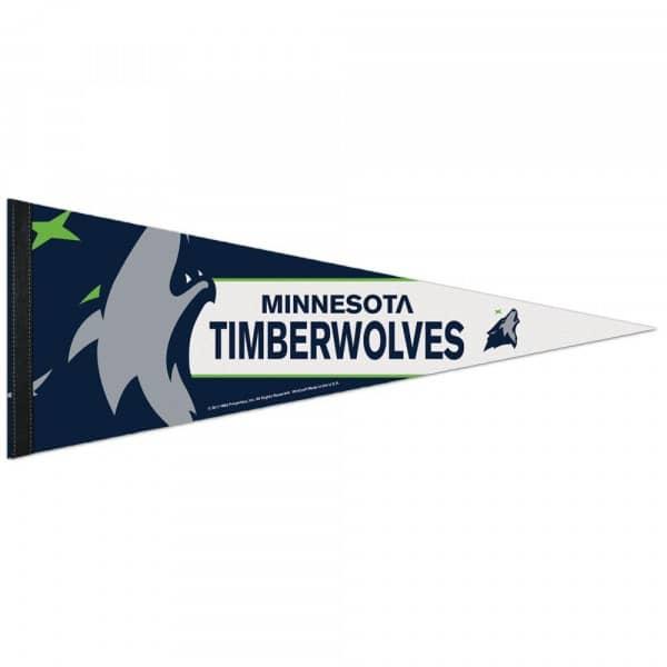 Minnesota Timberwolves Big Logo Premium NBA Wimpel