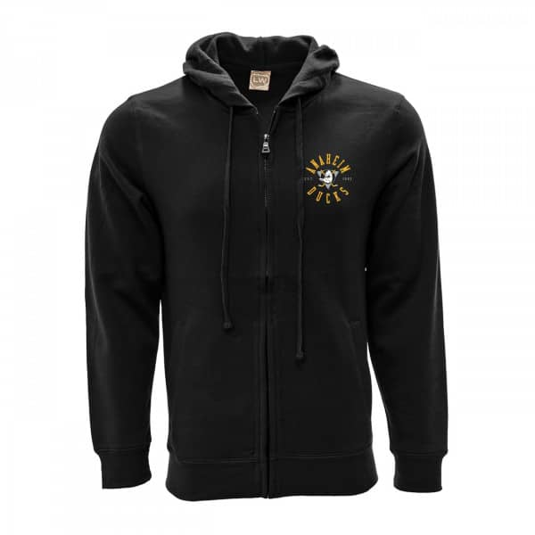 Anaheim Ducks Line Full-Zip NHL Hoodie