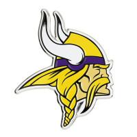 Minnesota Vikings Aluminium Color NFL Team Emblem