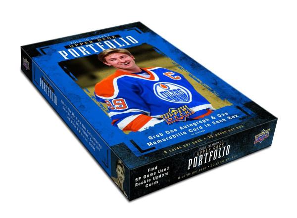 2015/16 Upper Deck Portfolio Hockey Hobby Box NHL