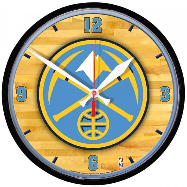 Denver Nuggets Basketball NBA Wanduhr