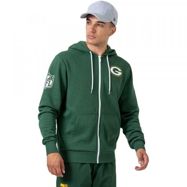 Green Bay Packers Super Bowl Champions Full-Zip NFL Hoodie