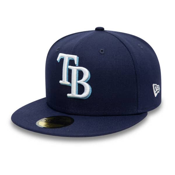 Tampa Bay Rays Authentic New Era 59FIFTY Fitted MLB Cap Game