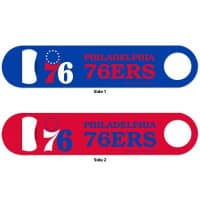 Philadelphia 76ers NBA WinCraft Metall Flaschenöffner