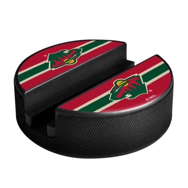 Minnesota Wild NHL Puck Media Device Holder