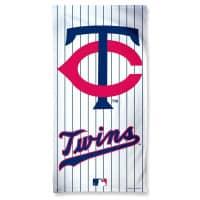 Minnesota Twins Stripes Fiber MLB Strandtuch