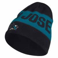San Jose Sharks 2019/20 Coach Beanie NHL Wintermütze