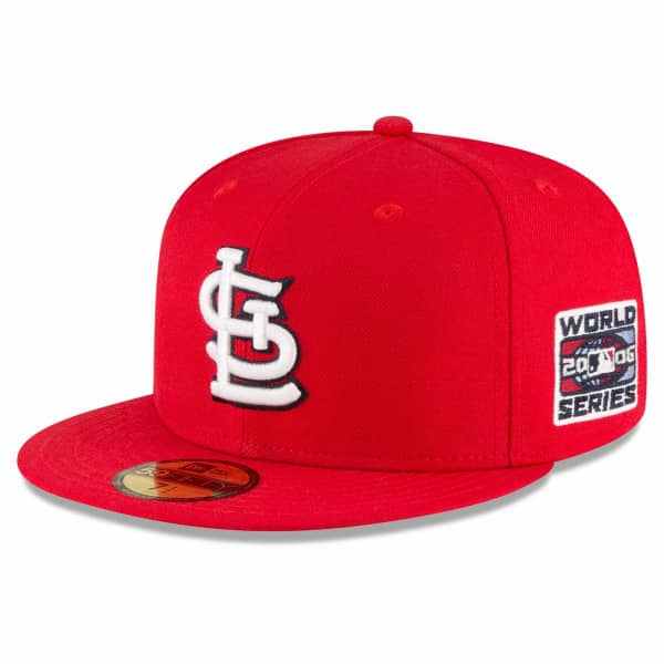 St. Louis Cardinals 2006 World Series Cooperstown 59FIFTY Fitted MLB Cap