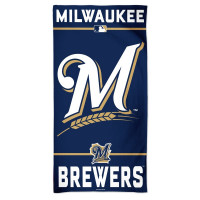 Milwaukee Brewers Fiber MLB Strandtuch