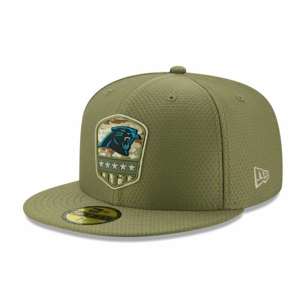 Carolina Panthers 2019 On-Field Salute to Service 59FIFTY NFL Cap
