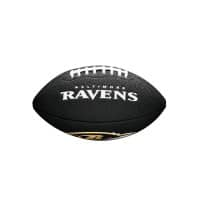 Baltimore Ravens NFL Mini Football Schwarz