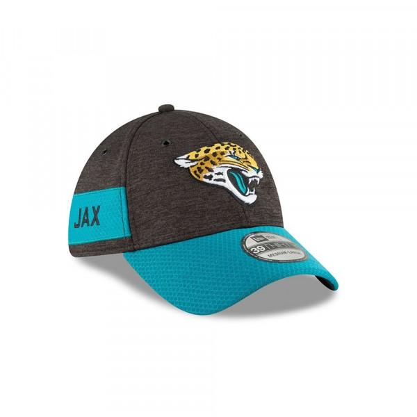 Jacksonville Jaguars 2018 NFL Sideline 39THIRTY Flex Cap Home