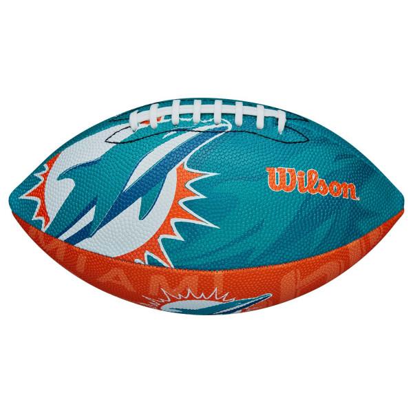 Miami Dolphins Team Logo Junior NFL Football