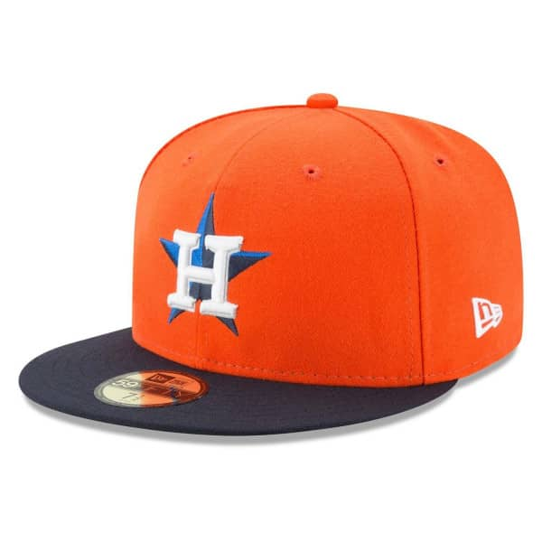Houston Astros Authentic New Era 59FIFTY Fitted MLB Cap Alternate